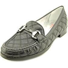 Zapatos planos de mujer de color principal negro de piel talla 38