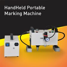 Portable Pneumatic Marking Machine,Dot Peen engraver For Vin number marking