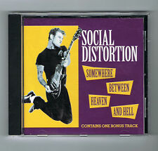 SOCIAL DISTORTION - SOMEWHERE BETWEEN HEAVEN AND HELL - CD COMME NEUF