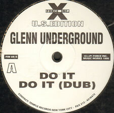 GLENN UNDERGROUND - Do It - 1995 - Force Inc. Music Works - FIM US 8 - Usa