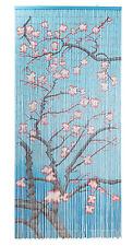 Kitsch Kitchen Türvorhang Bambus Bambusvorhang Blüten van Gogh Tür Deko blossom