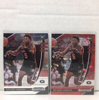 2020-21 Panini Prizm Draft Picks ANTHONY EDWARDS RC ROOKIE SILVER + RED ICE Lot