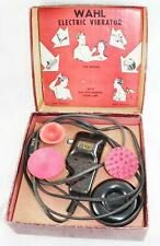 Vintage-Wahl-Jumbo-HC-Massager/Vibrator-4 Heads-In Original Box.