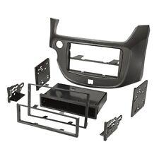 For Honda Fit 11/08- Car Radio Panel Installation Frame 1-DIN Black Matte