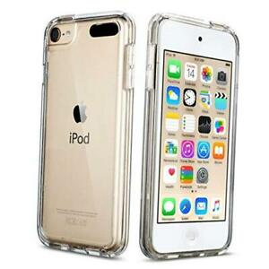 Soft TPU Bumper PC Back Hybrid Case for iPod Touch 6/iPod Touch 5/iPod Clear