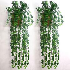 Artificial Ivy Leaf Garland Plants Vine Fake Foliage Home DIY Wall Decor Charm