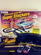 Vintage Tyco Super Stockers Magnum 440-X2 Kyle Petty & Cale Yarborough 1986-1989