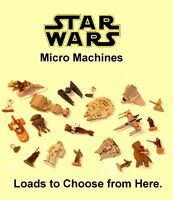 Modern Star Wars Micro Machines ~ LOADS TO CHOOSE FROM ~ Vehicles & Figures