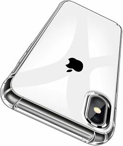 Hülle iPhone XR XS X SE 8 7 Case Handyhülle Schutzhülle Handy + Schutz Glas ✅