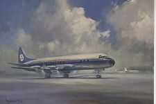 Postcard 1271 - Aircraft/Aviation KLM Lockheed Prop-Jet Electra