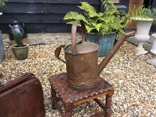 Large Antique Copper Watering Can French Garden Find