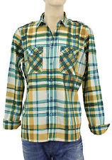 $325 BURBERRY Brit Green Blue Check AQUARELLE Casual Men Shirt XL NEW COLLECTION