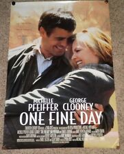 """""""One Fine Day"""" Original 27"""" x 41"""" Movie Theatre Lobby Poster - New, Rolled"""