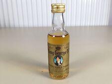 Mignonnette mini bottle non ouverte whisky king george IV