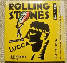 """ROLLING STONES """"NO FILTER IN LUCCA"""" DOUBLE CD LUCCA MURA STORICHE 23/9/2017 NEW"""