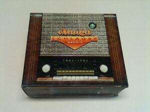 AMIGA Schlagerarchiv 1947-1957 - 5 CD Box © 1997>Amelie Baeker,Werner Hass..
