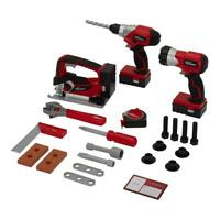 Power Tool Play Set for Kids, Toy Tool Set, Age 3 & Up, Incl. Batteries, 24 Pcs