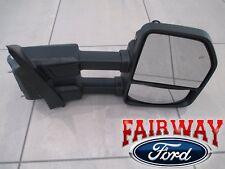 17 - 18 Super Duty F250 F350 OEM Ford Black Heat Signal Tow Mirror RH PASSENGER