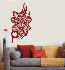 Vinyl Decal Wall Tribal Mask Taino Sun Sticker Art Decor (n1240)