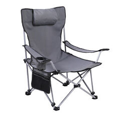 Extra Large Portable Sitting & Reclining Two Usage Chair For Camping And Fishing