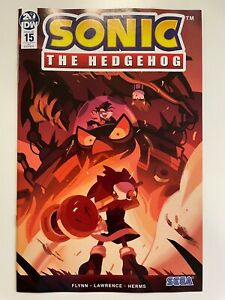 IDW SONIC THE HEDGEHOG #15 RI COVER : HTF! : NM CONDITION