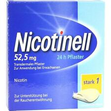 NICOTINELL (EurimPharm, Re-Import) 52,5 mg 24 Stunden Pflaster 7 st  PZN 1261984