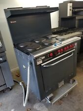 "Vulcan Hart E36 Six Burner Electric Range with Oven 36"""
