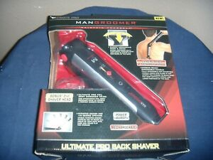 ultimate pro Mangroomer Do-It-Yourself back Shaver,/ groomer w/ extra head