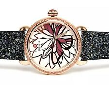 MICHELE MW05D36B4995 Garden Party Butterfly Blue Nights Crystal Watch 0214