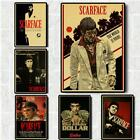 Scarface Movie Posters Good Quality Painting Vintage Poster Kraft Paper For Home
