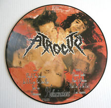"""33 T LP 12"""" PICTURE DISC ATROCITY Hallucinations NB 038 Germany Date: 1990"""