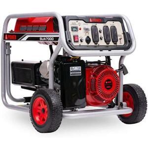 A-ipower 7000 Watt Portable Generator W/ Manual Start SUA7000 SUA7000C