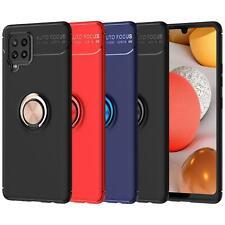 Per Samsung Galaxy A12 CASE, SLIM Anello Magnetico Cover Telefono ANTIURTO ARMOUR