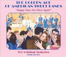 The Golden Age of American Sweet Bands: Happy Days [Box] by Various Artists (CD,
