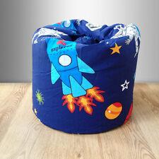 Children's Bean Bag Space Boy Planets Rocket Kids Bedroom Furniture Beanbag Seat