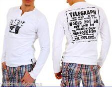 T-Shirt Maglietta Uomo Maniche Lunghe BRAY STEVE ALAN W836106 A779 Tg M L
