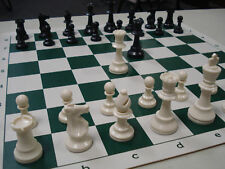 NEW Tournament Chess Set Basic Plastic Pieces Board