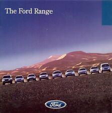 Ford 1998-99 UK Brochure Ka Fiesta Puma Escort Focus Mondeo Cougar Galaxy