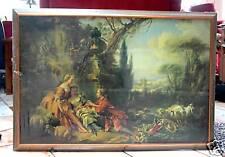 Großer Aufkaschierter Kunstdruck Bild  97 x 66,8 cm