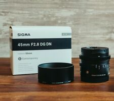 SIGMA 45mm F2.8 DG DN Contemporary Lens C019 Sony E Mount Mirrorless Only