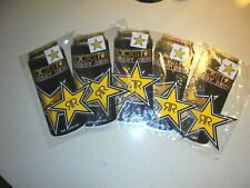 10 ROCKSTAR ENERGY DRINK CAN & STAR STICKERS/DECALS - NEW