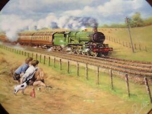 Coalport Collectors Plate RAILWAY CHILDREN - THE WEST COUNTRY