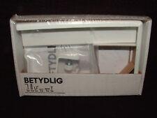 One Unit New in Box Betydlig Ikea White 18481 Curtain Rod Holder