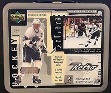 WAYNE GRETZKY 1999 Upper Deck Retro LUNCH BOX Metal TIN  Los Angeles Kings NHL