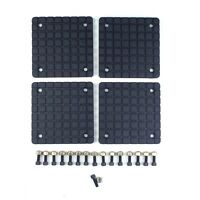 Rubber lift pad set DANNMAR 2 post square slip on style 17108189 set of 4
