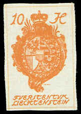 Scott # 19_1 - 1920 - ' Coat of Arms '; Hard Paper - '0' in '10' Inverted