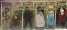 The MUNSTERS - Classic TV Toys- Mego Retro Action Figure - RARE - 4 are NEW -