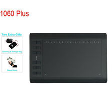 "Huion New 1060Plus Graphic Drawing Tablet 12 Express Keys 10 x6.25"" Upgrade 8GB"