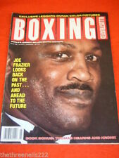 March Boxing Monthly Sports Magazines in English