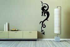 Wall Vinyl Sticker Room Decals Mural Design Art Tattoo Dragon bo124